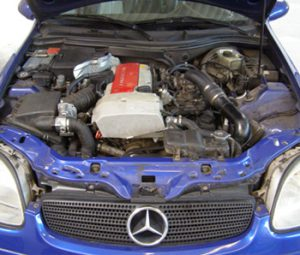 MercedesSLK230K-Technik01